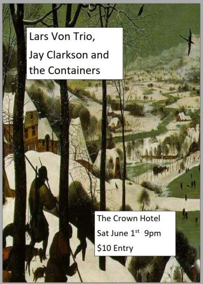 Lars Von Trio, Jay Clarkson And The Containers