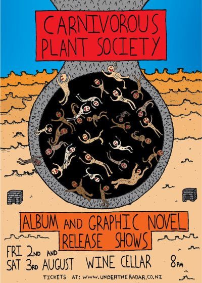 Carnivorous Plant Society - Album and Graphic Novel Release Shows
