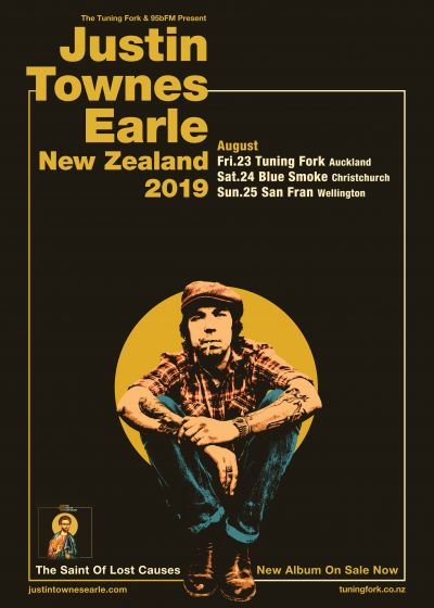 Justin Townes Earle New Zealand Tour