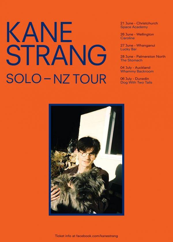 Kane Strang Solo Tour