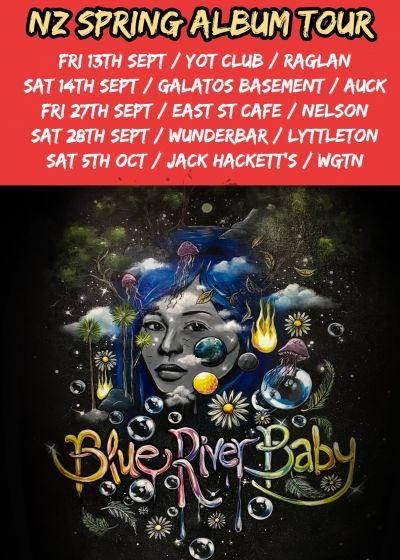 Blue River Baby - National Spring Album Tour