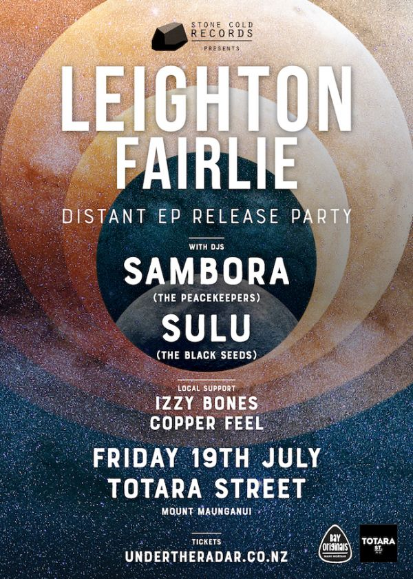 Leighton Fairlie - Distant EP Release Party Ft. Sambora and Dj Sulu