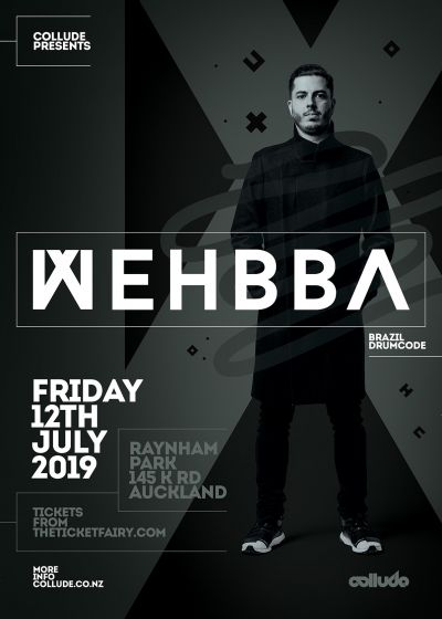 Collude Presents. Wehbba (BRA/Drumcode)
