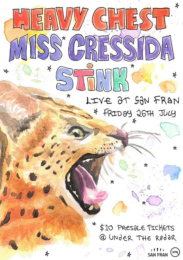 Miss Cressida, Stink + Special Guest TBA