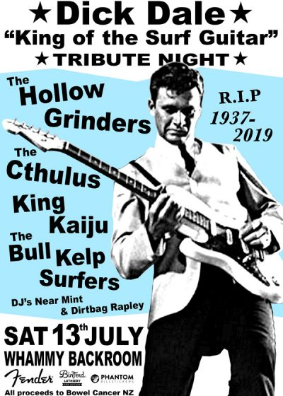 Dick Dale King Of The Surf Guitar Tribute Night