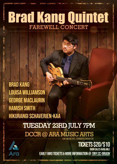 Brad Kang Quintet - Farewell Concert