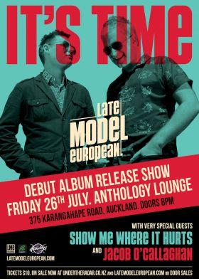 Late Model European – It's Time! Debut Album Release Show
