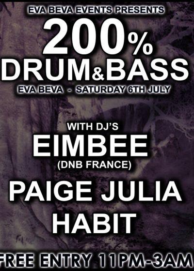 Eimbee, Paige Julia, Habit