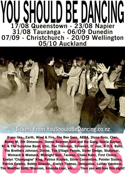 You Should Be Dancing - NZ Tour 3