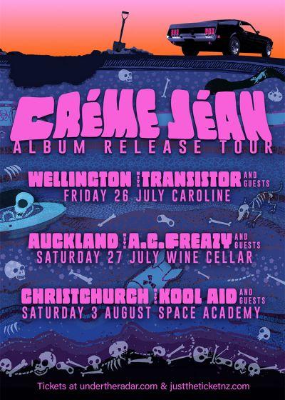 Creme Jean Album Release Tour