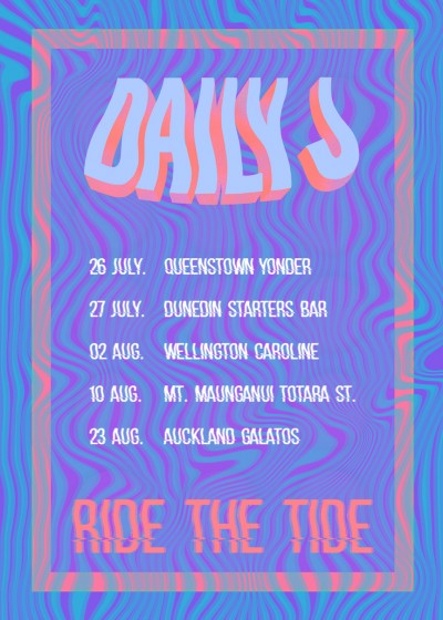 Daily J Ride The Tide Tour