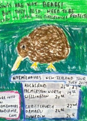 Noemie Nours - NZ Tour