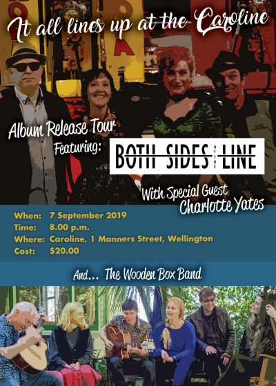 Both Sides of the Line, Charlotte Yates, The Wooden Box Band
