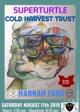 Superturtle, Cold Harvest Trust, Hannah Fang