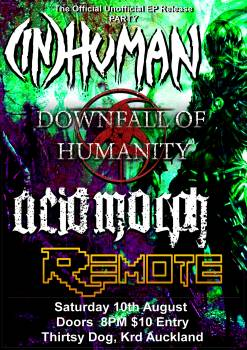 (IN)Human, Downfall Of Humanity, Acidmorph, Remote