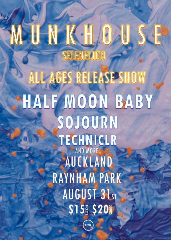 Munkhouse Selenelion All Ages Release Show