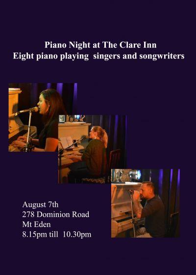 Piano Night By Firelight
