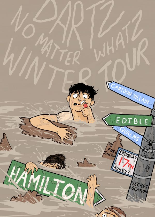 Dartz - No Matter Whatz Tour