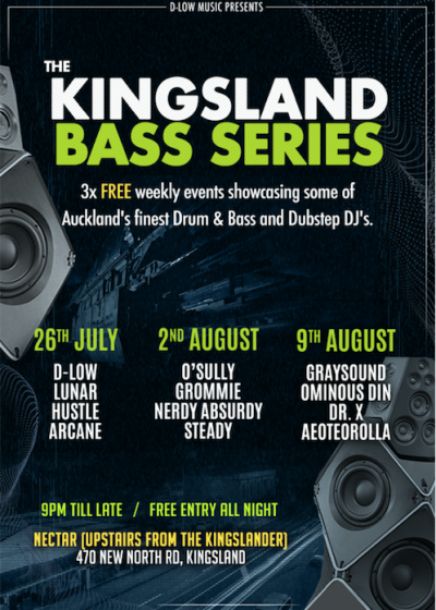The Kingsland Bass Series #01