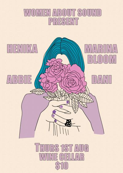 Women About Sound: Henika, Abbie, Marina Bloom, Dani