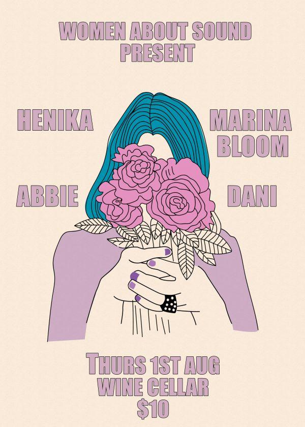 Women About Sound: Henika, Abbie, Marina Bloom, Dani