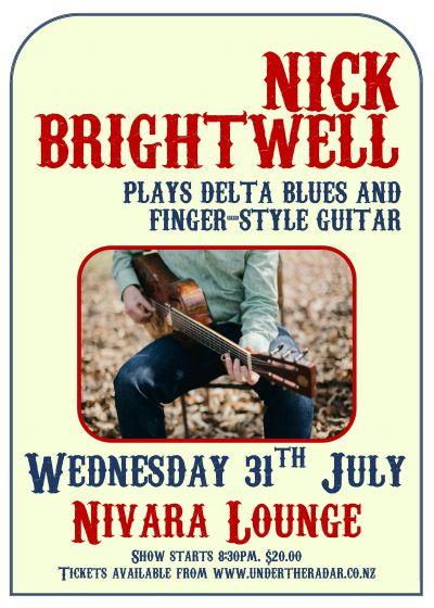 Nick Brightwell, Delta Blues