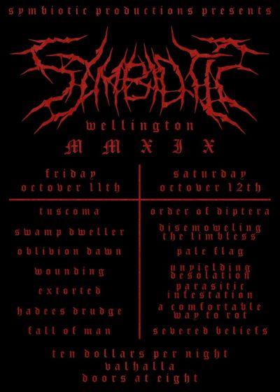 Symbiotic Metal Fest 2019 Day 1