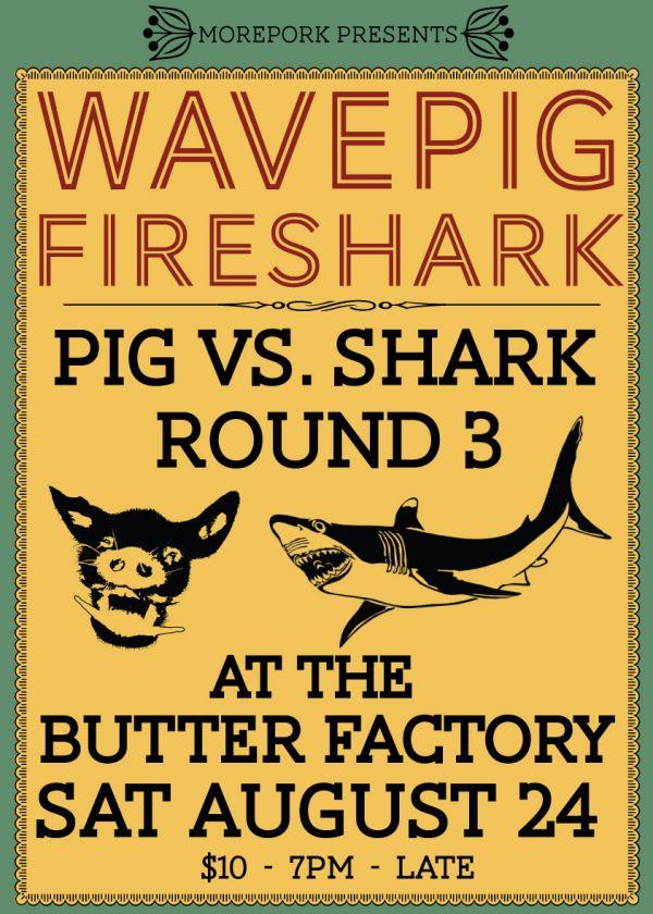 Pig Vs Shark 3