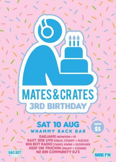 Mates&Crates 3rd Birthday