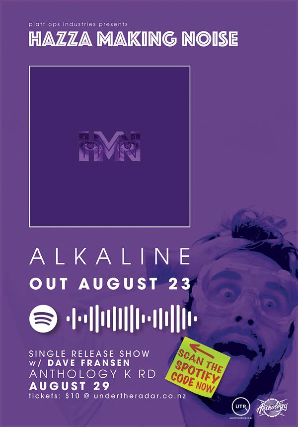 Hazza Making Noise: Alkaline Single Release