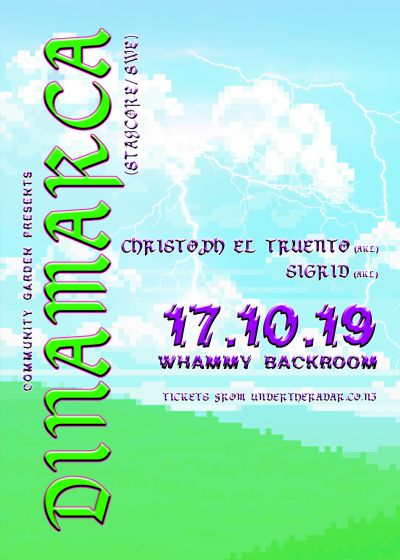 Community Garden Presents Dinamarca (Staycore / SWE)