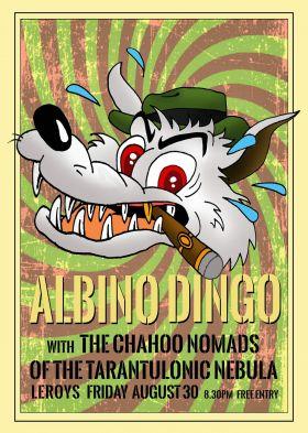 Albino Dingo Surf Rock