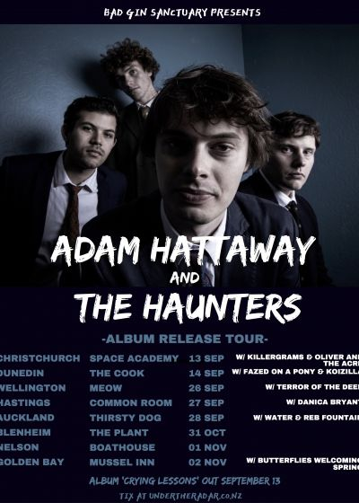 Adam Hattaway And The Haunters - Dunedin