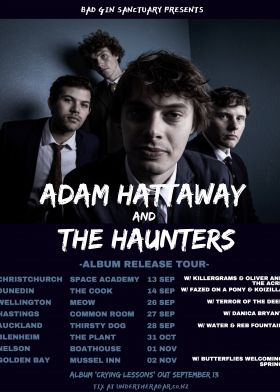 Adam Hattaway And The Haunters - Wellington