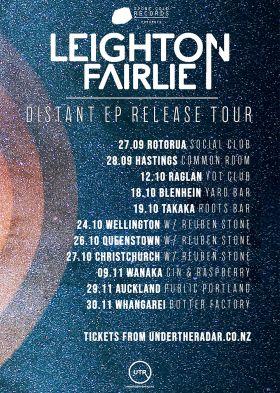 Leighton Fairlie - Distant EP Release Tour (Raglan)