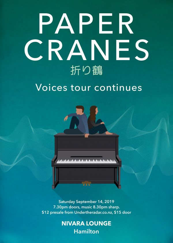 Paper Cranes Voices Tour Continues