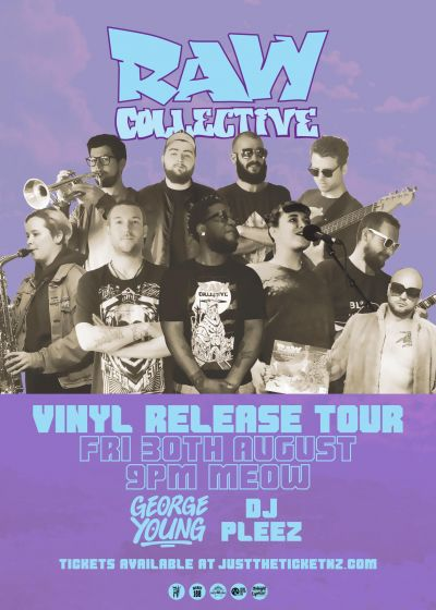 Raw Collective, George Young, Dj Pleez