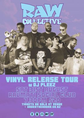 Raw Collective w/ Dj Pleez - Vinyl Release