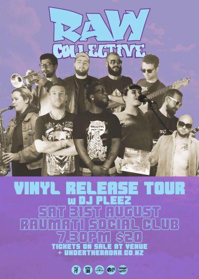 Raw Collective w/ Dj Pleez - Vinyl Release