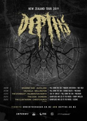 Depths NZ Tour 2019