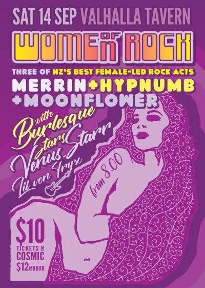 Merrin, Hypnumb, Moonflower, Venus Starr, Lily von Tryx