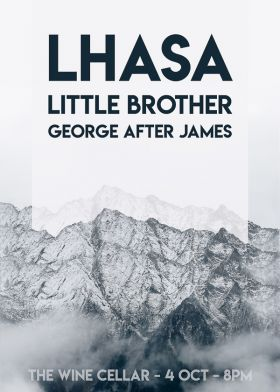 LHASA w/ Little Brother and George After James