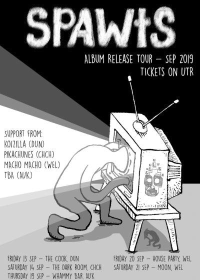 Spawts - Album Release Tour