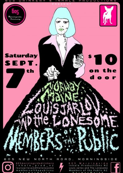 Norwaymaine, Louis Jarlov And The Lonesome, Members Of The Public