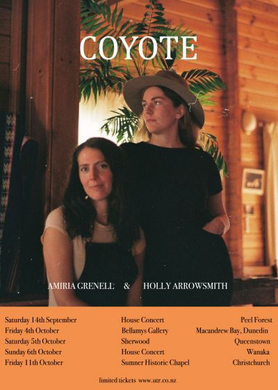 Coyote - Amiria Grenell and Holly Arrowsmith