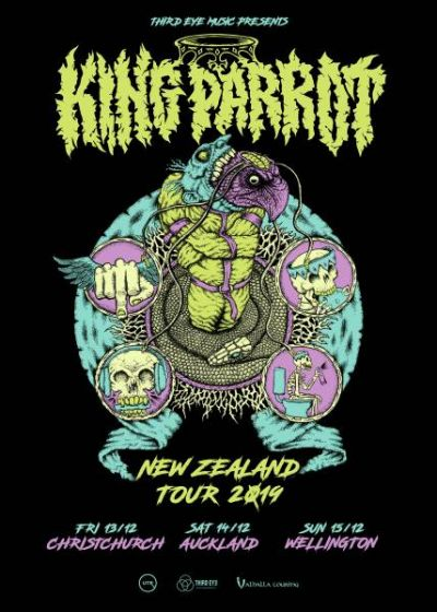 King Parrot NZ Tour 2019 - Cancelled