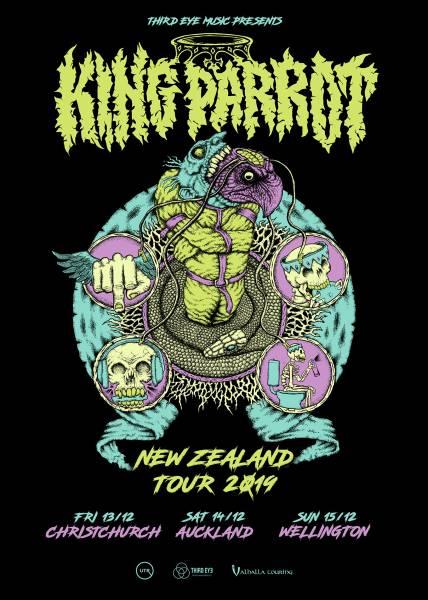 King Parrot NZ Tour 2019