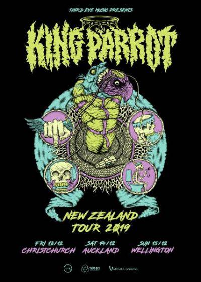 King Parrot NZ Tour 2019 - Cancelled