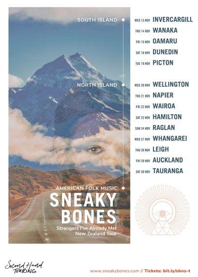 Sneaky Bones - NZ Tour