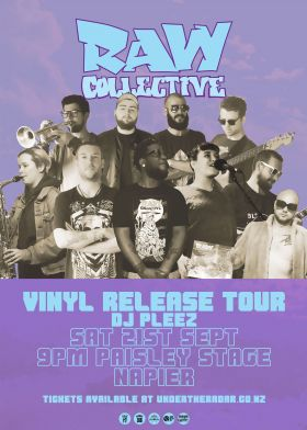 Raw Collective X Dj Pleez - Vinyl Release